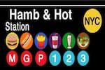 Logotipo Hamb & Hot Station