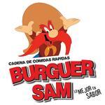 Logotipo Burguer Sam