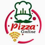 Logotipo Pizza Online