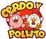 Logotipo Cerdo y Pollito