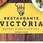 Logotipo Restaurante e Buffet Victoria.