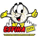 Logotipo Esfiha City Lanchonete & Pastelaria