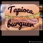Logotipo Tapioca e Burguer Manina