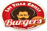Logotipo Los Villa Grills Burgers Portales Sur