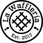 Logotipo La Waffleria Cañaveral