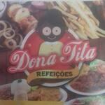 Logotipo Dona Tita Refeicoes