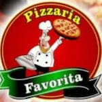 Logotipo Pizzaria Favorita Delivery