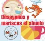 Logotipo Desayunos y Mariscos el Abuelo