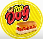Logotipo Top Dog Lanches Delivery