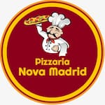 Logotipo Pizzaria Nova Madrid