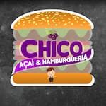 Logotipo Açai e Hambúrgueria do Chico