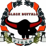 Logotipo Black Buffalo Pizza