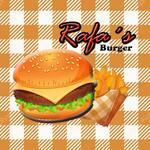 Logotipo Rafas Burger