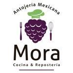 Logotipo Mora Antojería Mexicana