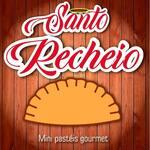 Logotipo Santo Recheio Mini Pastéis Gourmet