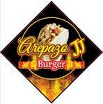 Logotipo Arepazo JJ Burger