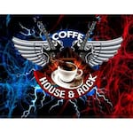 Logotipo Coffe House & Rock