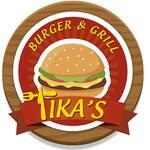 Logotipo Tikas Burger and Grill