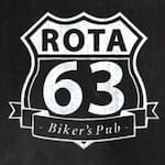 Logotipo Rota 63 - Bikers Pub