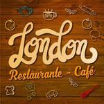 Logotipo London Restaurante - Café