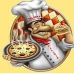 Logotipo Disk Pizza Paladar