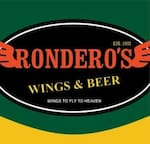 Logotipo Ronderos Wings & Beer