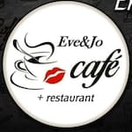 Logotipo Eve&Jo Cafe + Restaurante