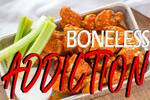 Logotipo Boneless Adicction