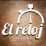 Logotipo Café el Reloj