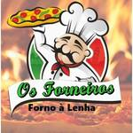Logotipo Os Forneiros Forno a Lenha