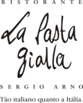 Logotipo La Pasta Gialla - Vila Mascote