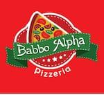 Logotipo Babbo Alpha Pizzeria