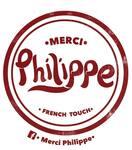 Logotipo Merci Philippe Suc Capistrano
