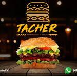 Logotipo Tacher Hamburguesas