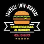 Logotipo Tropical Love Burger