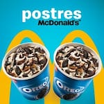 Logotipo Postres McDonald's Cacique