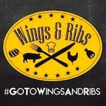 Logotipo Wings & Ribs (centro)
