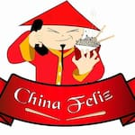 Logotipo China Feliz Restaurante Chines