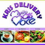 Logotipo Kris Delivery Muito Maisvc