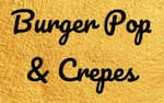Logotipo Burger Pop & Crepes