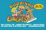 Logotipo Gordinho Lanches