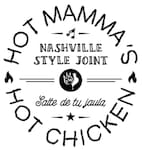 Logotipo Hot Mammas Hot Chicken Condesa