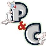 Logotipo Pinky y Cerebro - Villa Campestre