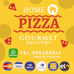 Logotipo Home Pizza Gourmet - Delivery