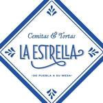 Logotipo Cemitas y Tortas La Estrella Xola