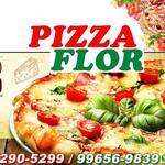 Logotipo Pizza Flor