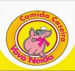 Logotipo Comida Caseira Vovó Neida