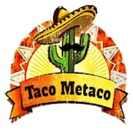Logotipo Taco Metaco - Mexican Food