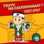 Logotipo Tsuyu Na Caixinha