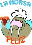 Logotipo La Morsa Feliz